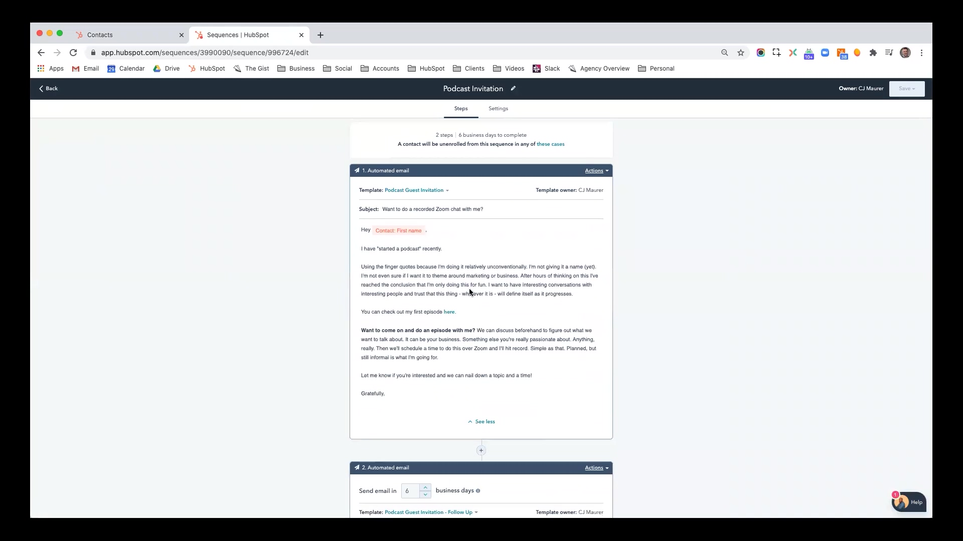 Hubspot - Automating Outreach with Sales Sequences-thumb